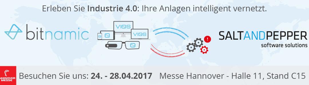 Industrie 4.0 auf der Hannover Messe 2017