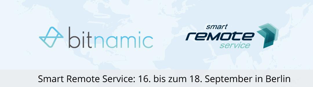 Smart Remote Service – Treffen Sie uns auf dem größten jährlichen Branchentreffen zu Remote Service in D/A/CH