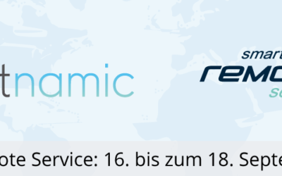 Smart Remote Service – Meet us at the largest annual industry gathering for Remote Service in D / A / CH
