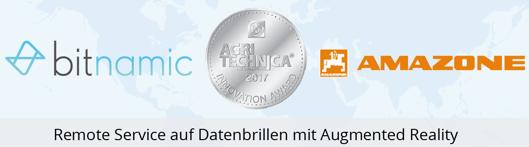 Innovation Award AGRITECHNICA 2017 für SmartService 4.0 bei AMAZONE
