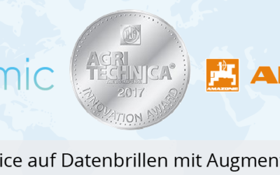 Innovation Award AGRITECHNICA 2017 for SmartService 4.0 at AMAZONE