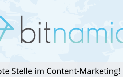 450 € worker in communication management // content marketing