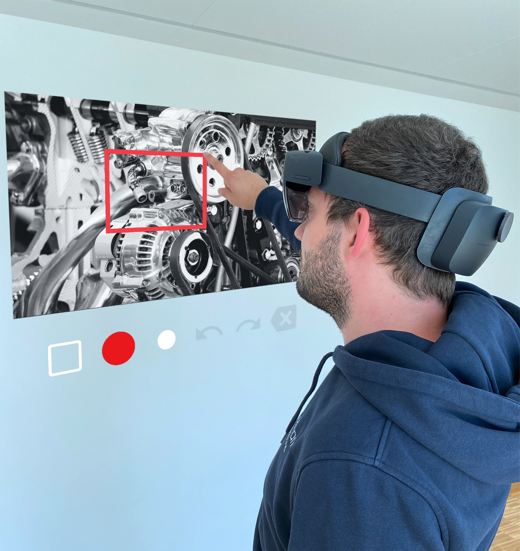 Microsoft HoloLens 2 Augmented Reality Instandhaltung