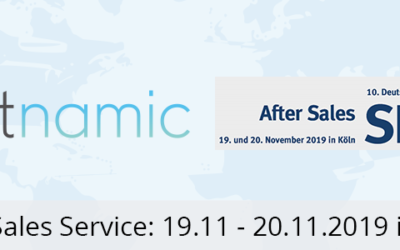 After Sales Service 2019 – Get to know RMA and our new product on November 19th in Cologne