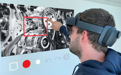 Maintenance and service with Remote Maintenance and Microsoft HoloLens