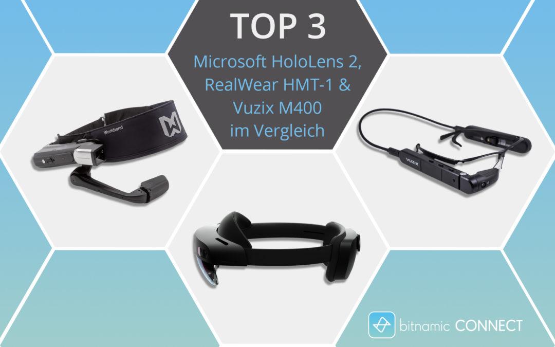 bitnamic_CONNECT_Microsoft_HoloLens_2_RealWear_HMT-1_Vuzix_M400_Vergleich