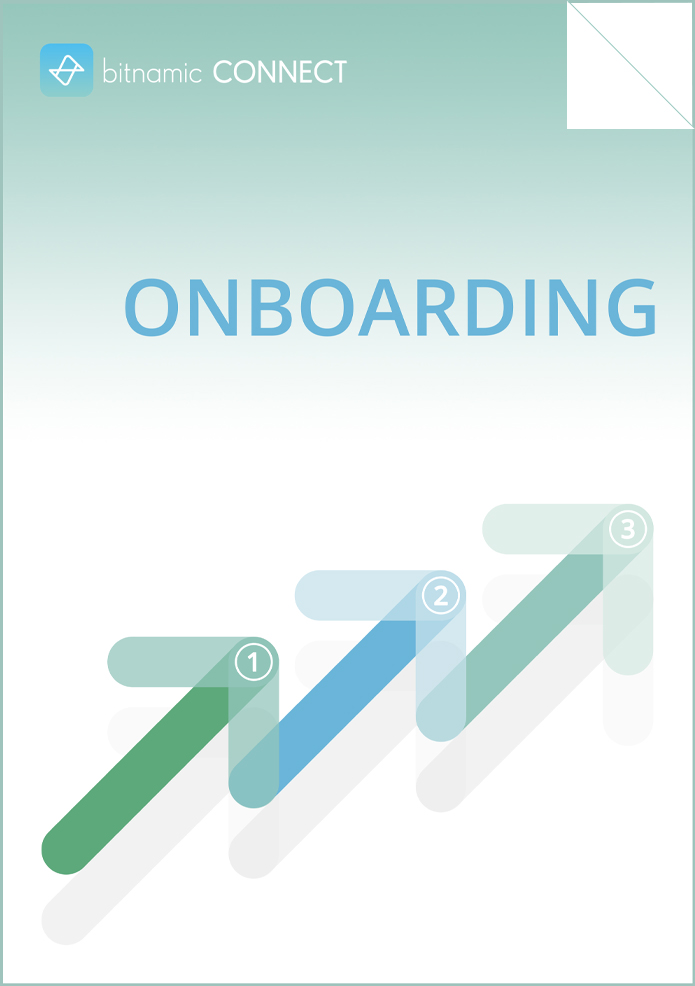 bitnamic CONNECT Download Onboarding