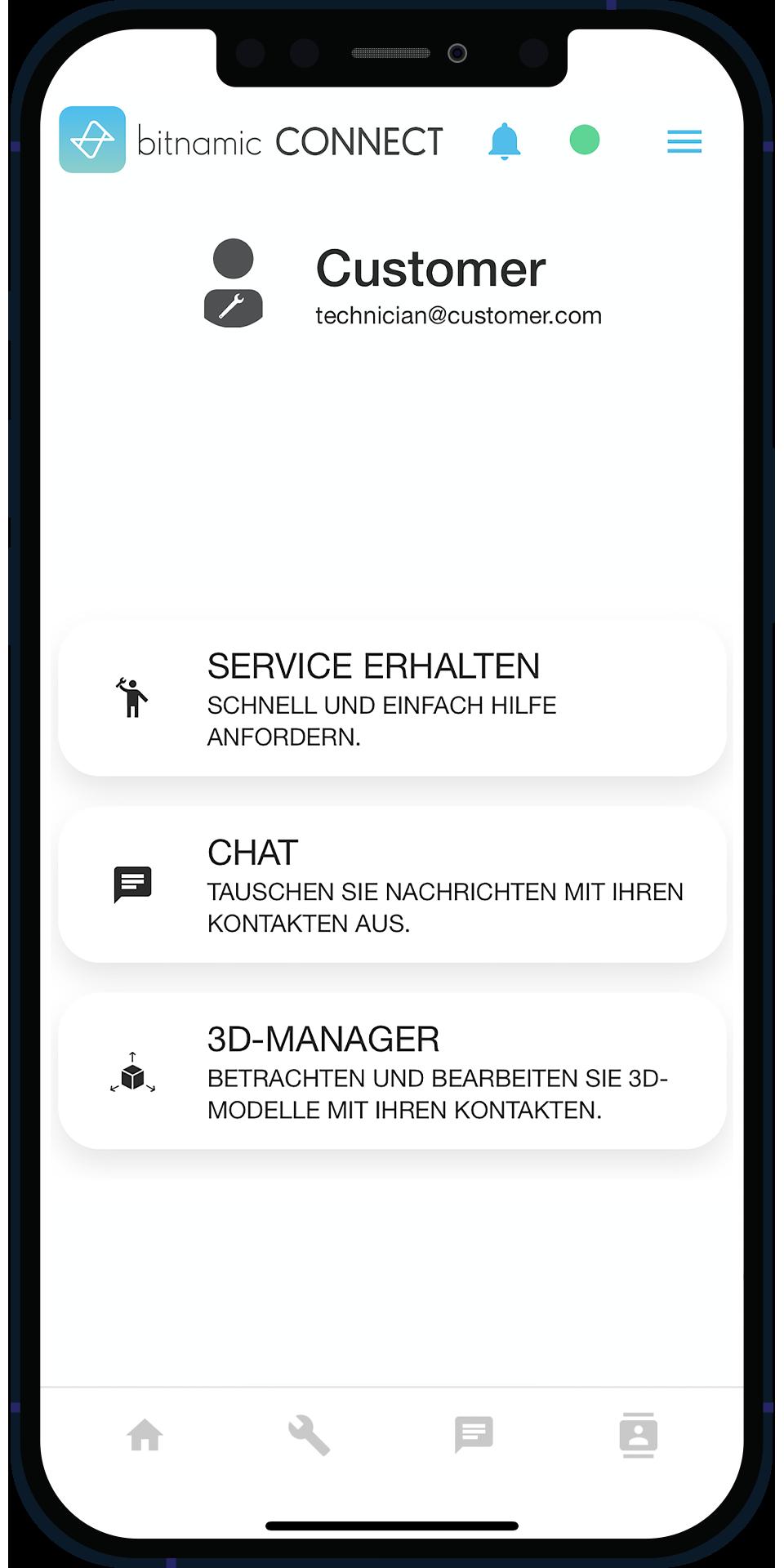 bitnamic CONNECT App